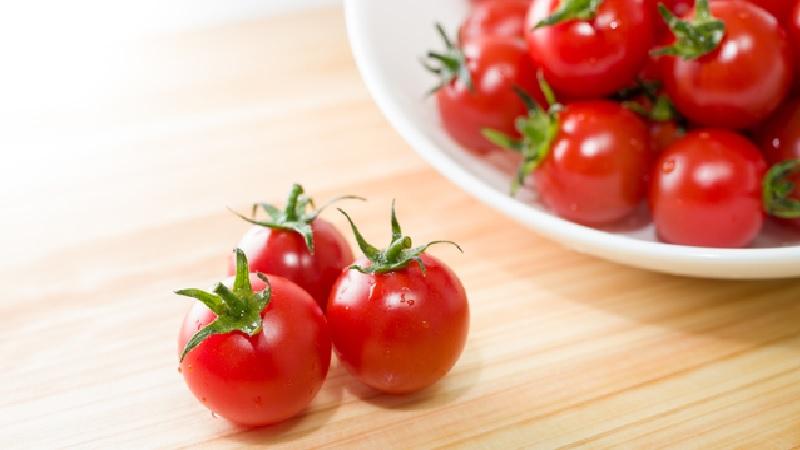 シミや乾燥を防いで美肌に!ミニトマトの美容効果