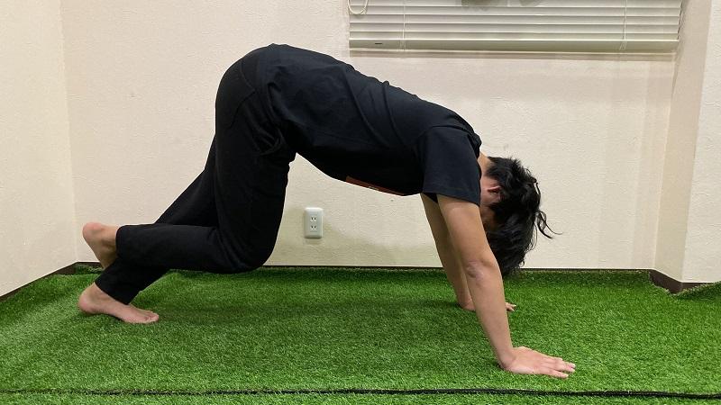 キッズトレーニング② 足部の痛みを改善!かかとの柔軟性を高める